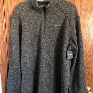 Eddie Bauer Pullover Sweater Radiator Fleece Sz2XL